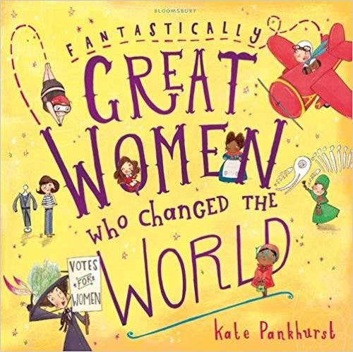 Fantastically Great Women who Changed The World - Boys need to know about great women, just like the girls do.While a lot of press has gone to Goodnight Stories for Rebel Girls, we've chosen this book from Kate Pankhurst (the granddaughter of Suffragist campaigner Emmeline Pankhurst, no less) as by this age, children are a bit sensitive about reading things that are 'for someone else'. No matter how much we wish they weren't.Fantastically Great Women who Changed the World paperback £5.28 Amazon