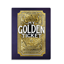 My Golden Ticket - Personalised books might remind you of the rather naff ones we used to get in the 80s. But, Wonderbly's range have great illustrations, lovely words and high production values. This gorgeous book is full of details and is produced in collaboration with the Roald Dahl estate.Your kid gets a trip round Willy Wonka's Chocolate Factory. Brilliant.My Golden Ticket  from £19 Wonderbly