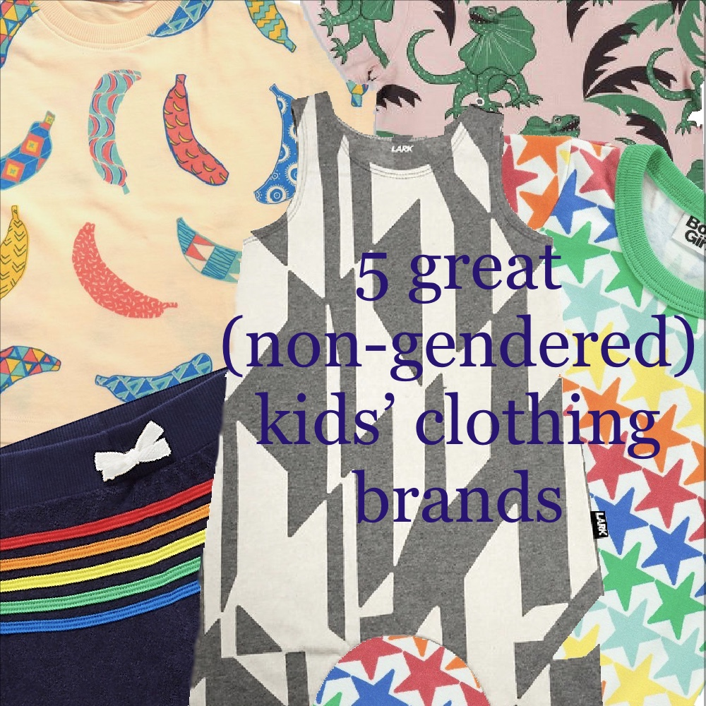 5 great un-gendered clothing brands