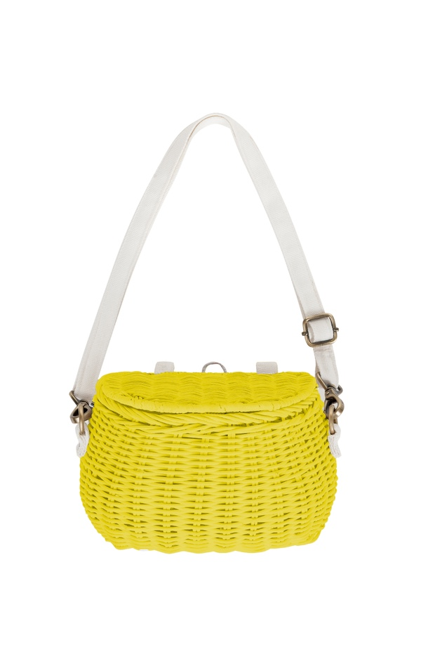 OlliElla Chari Bag - This little basket can be attached to bikes and scooters and carried around full of the weird things that only two year olds need.£35The Modern Nursery