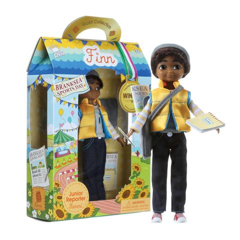 Sammi Doll - Lottie make dolls that look like children, and they have a pleasing range of clothes and accessories for dressing up in and trying out occupations, from astronauts to reporters. Boys need this outlet as much as girls do.£21.99Lottie Dolls