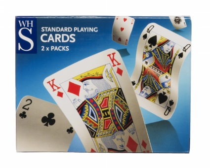 Pack of cards - This is the gift that keeps on giving, teach them to master Patience over the Christmas holidays and they'll never be bored again.£2.49WH Smiths