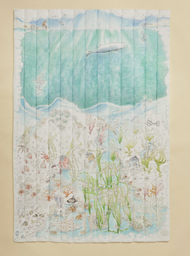 Legend of the Seas blanket - Inspired by British wildlife, this gorgeous under-the-sea blanket is so special, a rare find that will be passed down through the generations.£150Word to the Mother