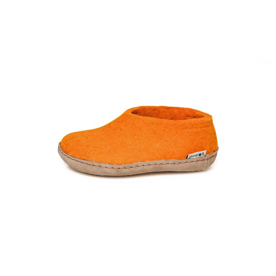 Felt Slipper - These are warm and cosy and incredibly hardwearing. And come in a range of brilliant colours like this delicious orange.£42Glerups