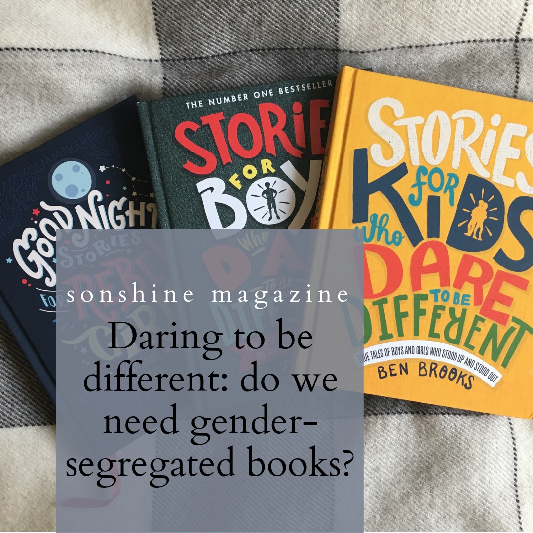 Books about or for boys #smashingstereotypes