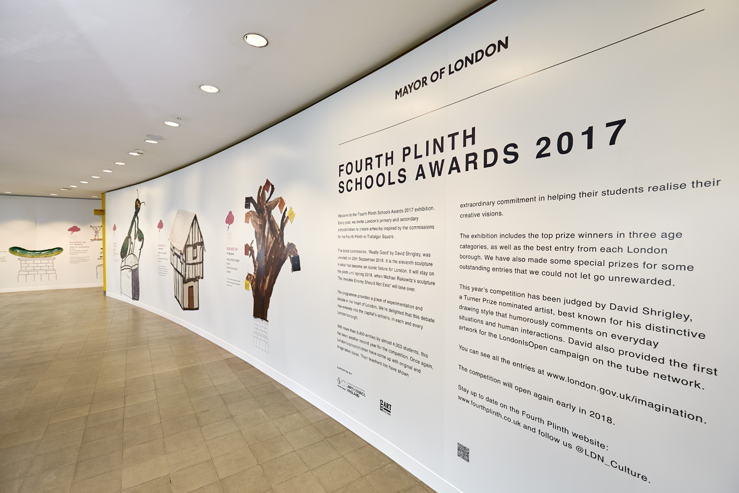 Fourth Plinth Schools Award 2017    Find out more...