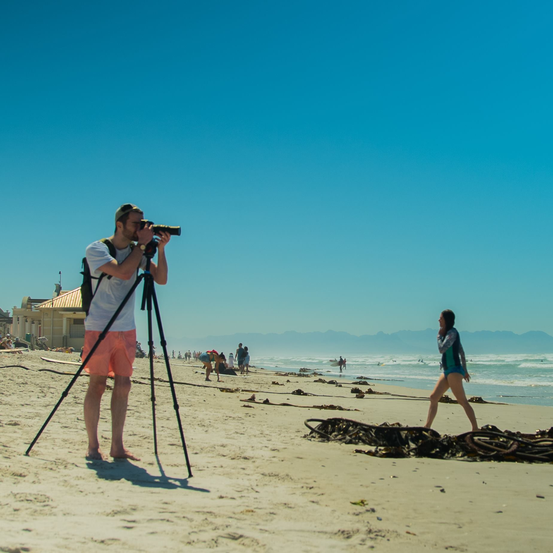 Will on shoot with that A7sii, don't get distracted by the shorts!
