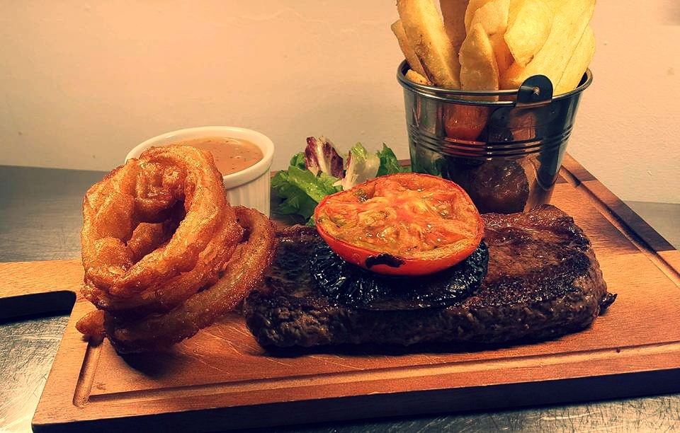 Steak Night - Thursday nights are Steak Nights in the Little Black Door...