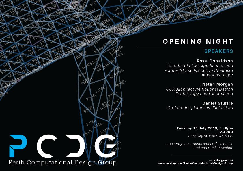 Perth Computational Design Poster