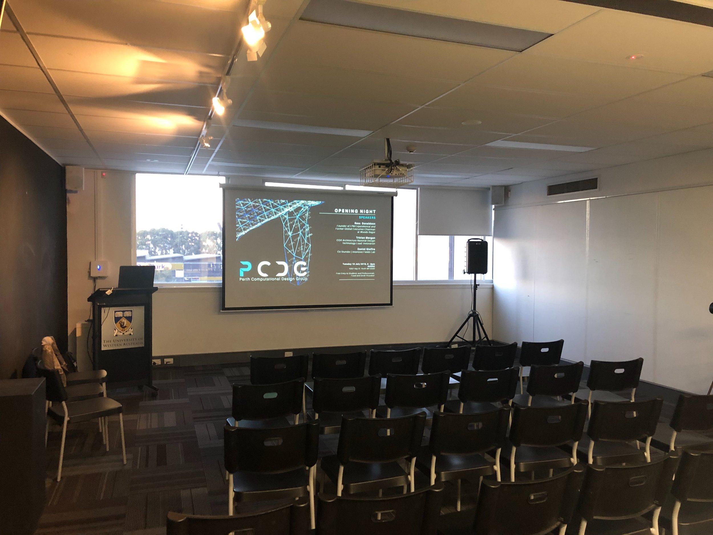 AUDRC: Event Setup