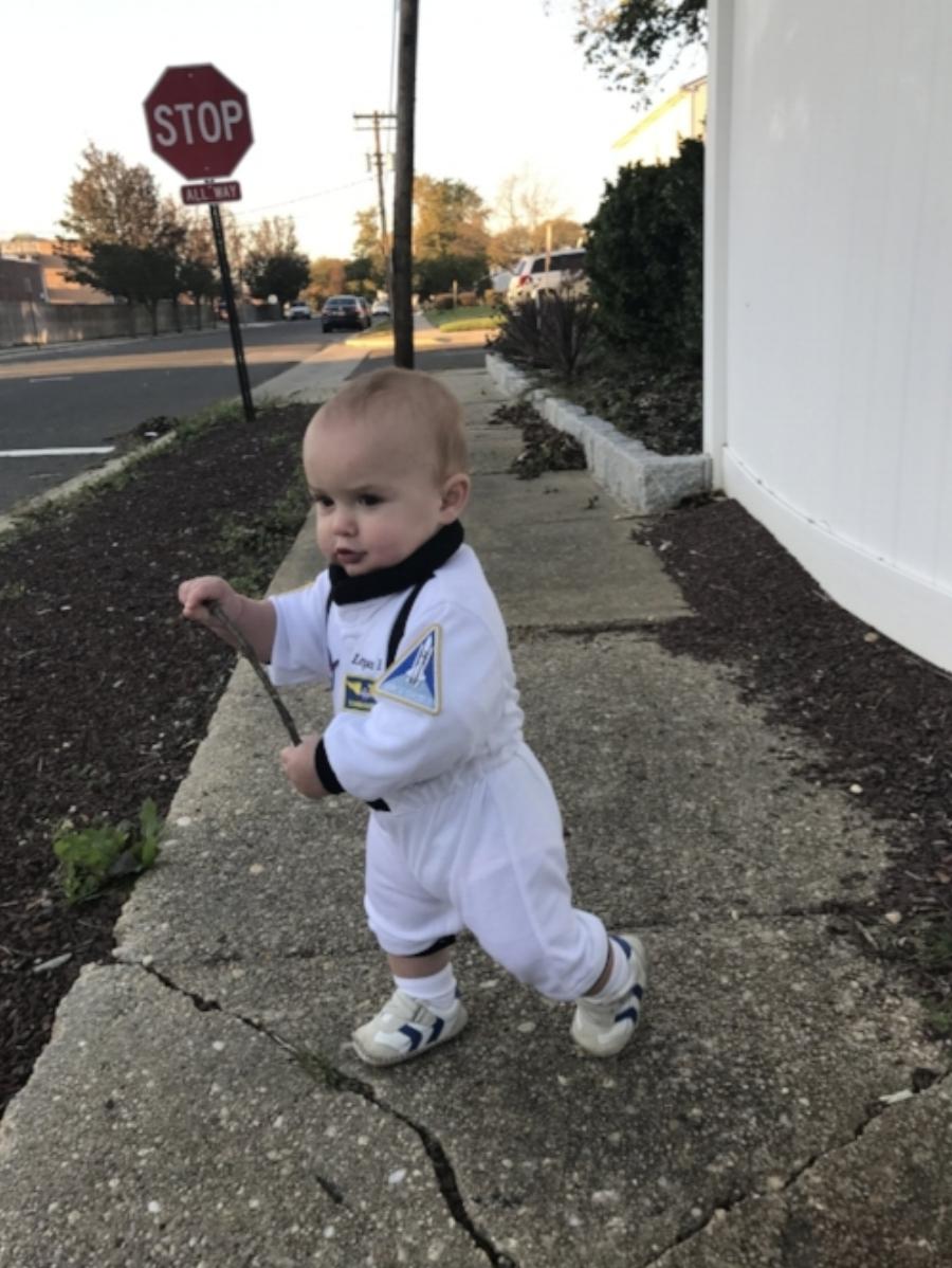 Astronaut Boy!