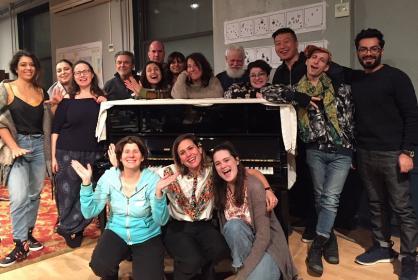 Some of the 2019 Composer Librettist Studio Participants!