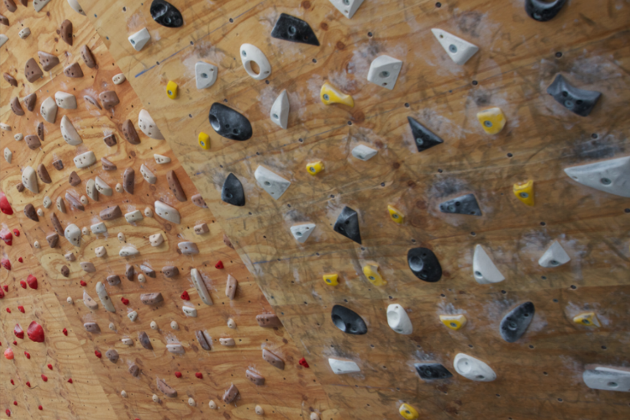 CLIMBING TRAINING AREA Our climbing training training area includes LED equipped Moonboard, 30 Degree symetrical woody, 20 Degree sloper board, 3 rung full height Campus board and a comprehensive range of wooden hangboards... Enjoy!