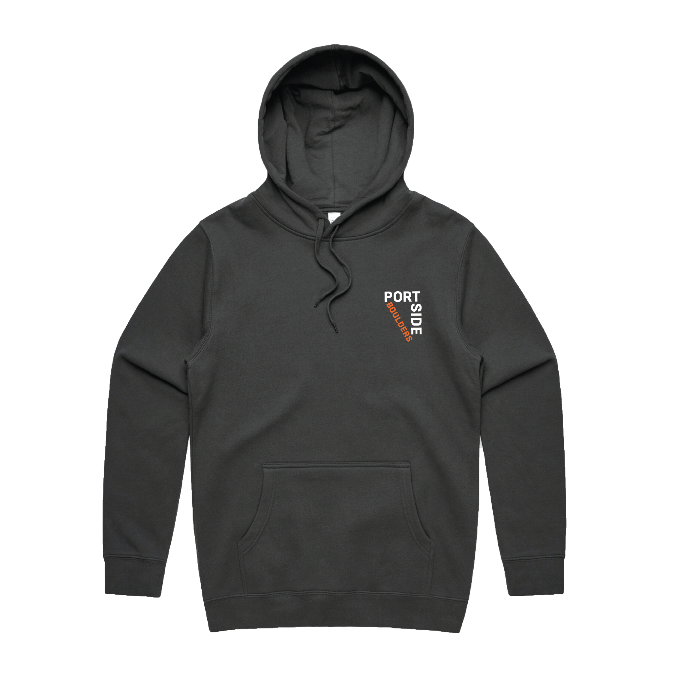 Graphite Hoodie Front