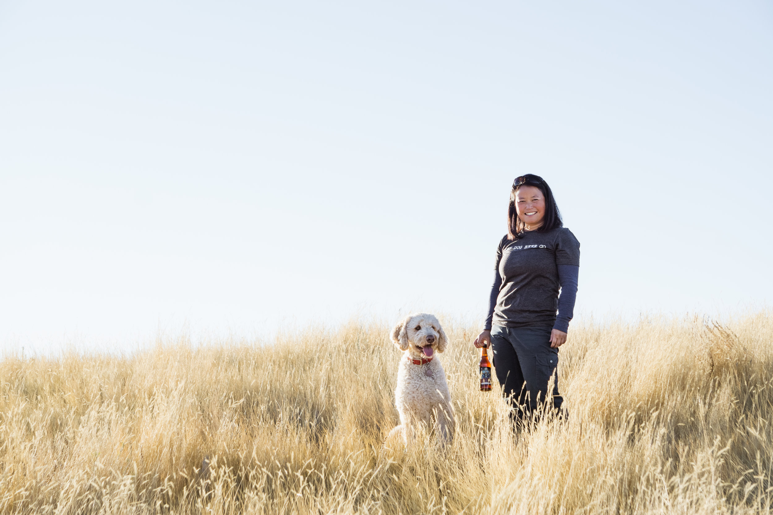 Happy Dog Beer Co. living life in Bozeman Montana Outdoors