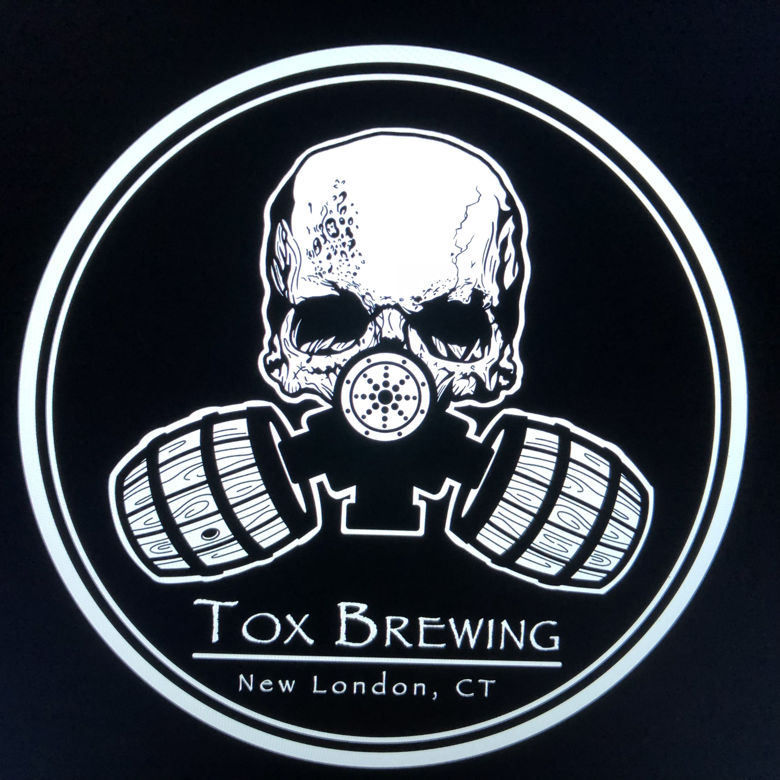 Pat's Redesign of our Skull/Gas Mask logo.