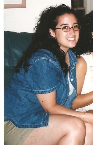 Me in my early 20s - the unhealthiest time of my life