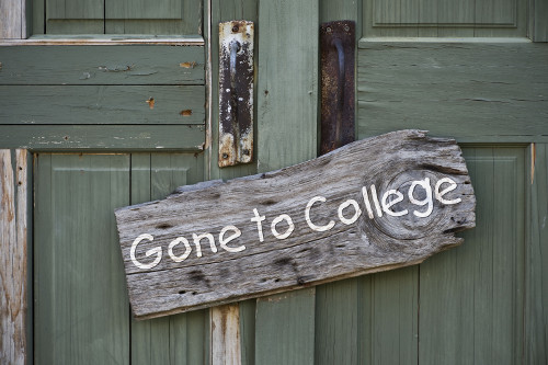 Gone to College - Loans