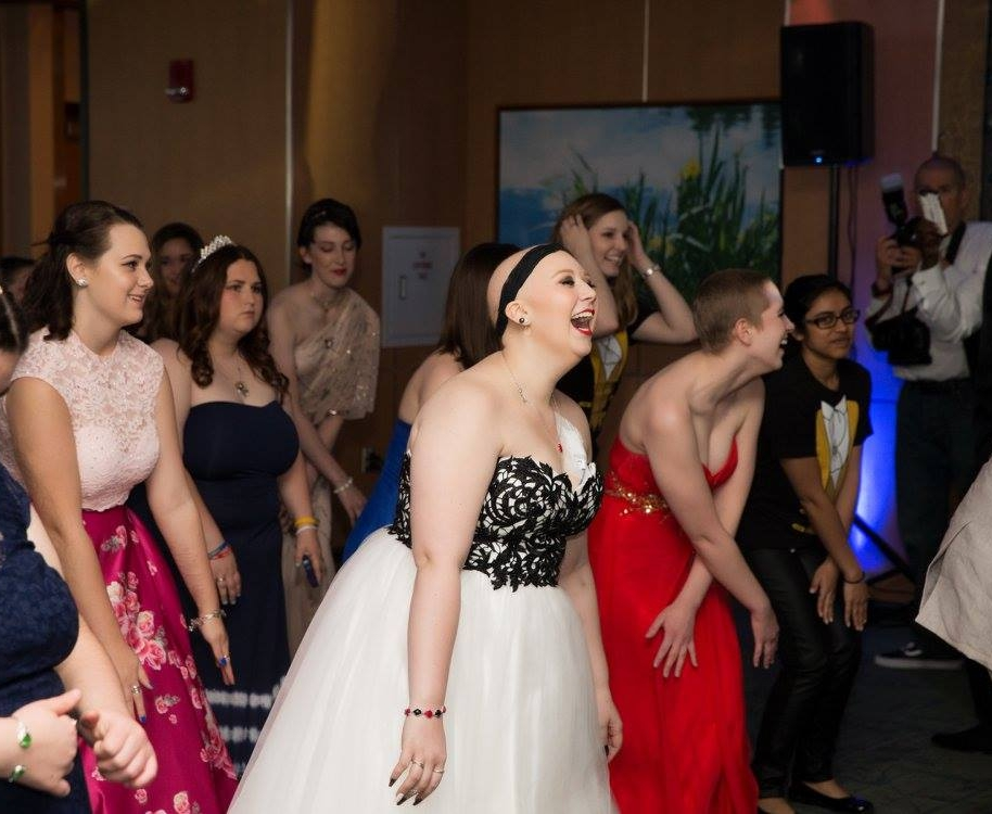 Pilot program for annual Prom - at MD Anderson Cancer Center
