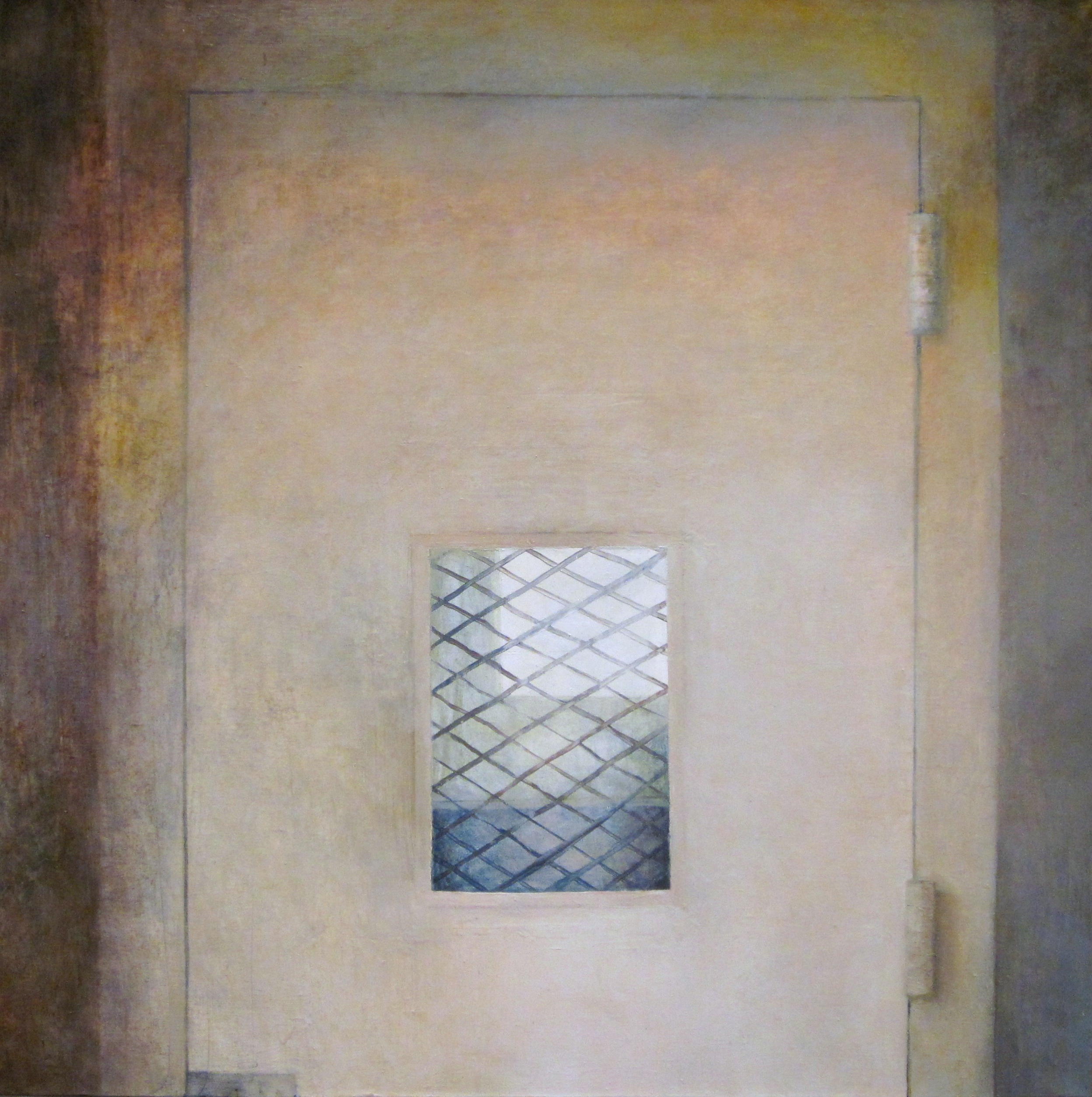 In, Oil on Canvas, 36 x 36 inches, 2011
