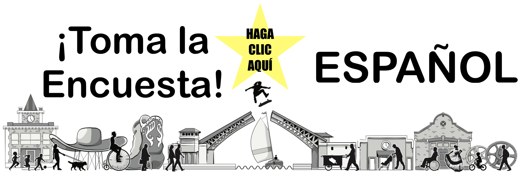 ENCUESTA COMUNITARIA DEL SENDERO ENTRE GEORGETOWN Y SOUTH PARK (ESPAÑOL)  https://forms.gle/VQ2fxH43FkgFzx2N8