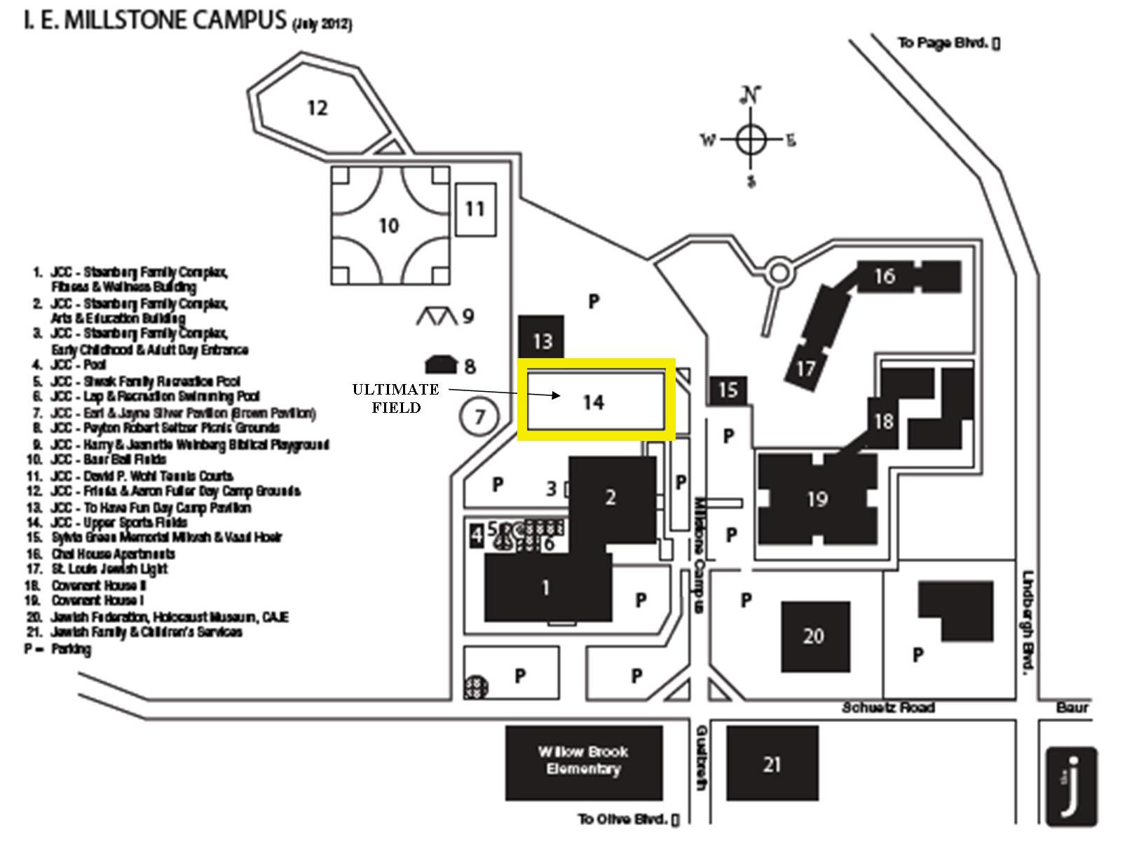 JCC Field Map