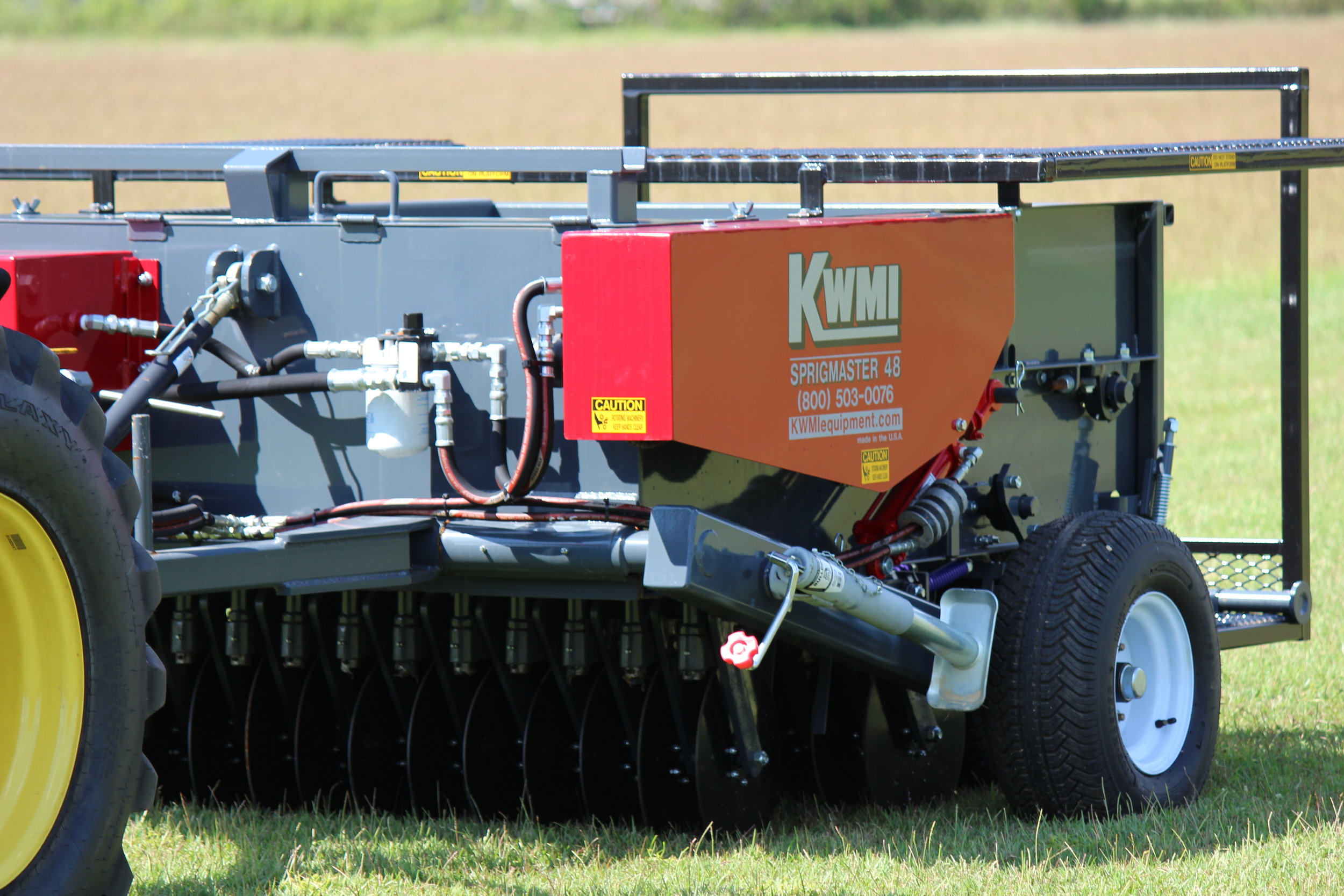 Sprig Planter | Sod to Sprigs In One Pass — KWMI Turf and