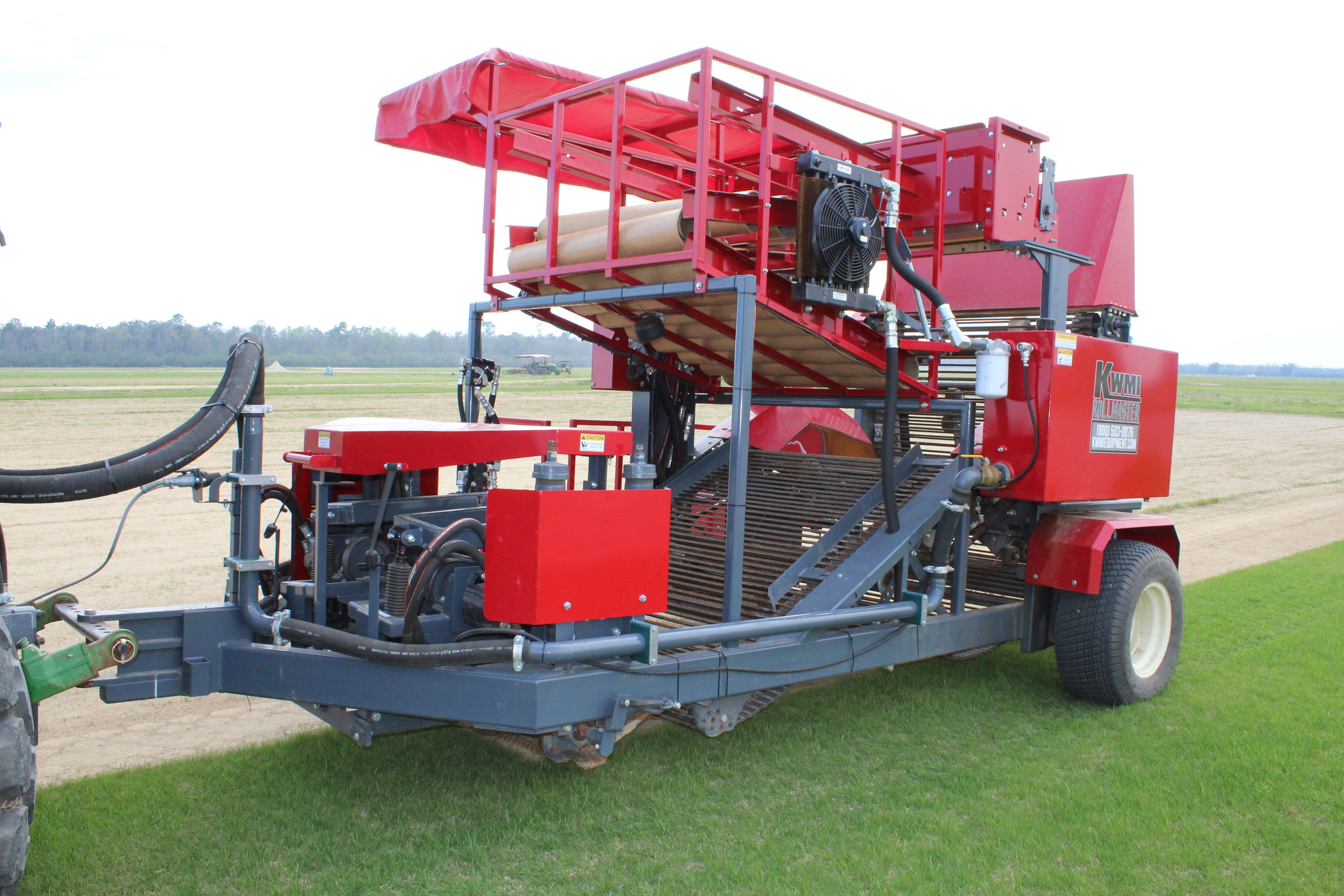 RollMaster Big Roll Harvester
