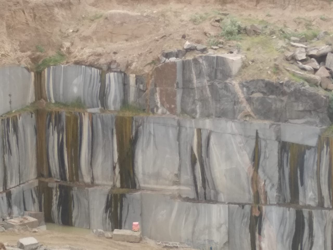 Granite Quarry in Andhra Pradesh, India