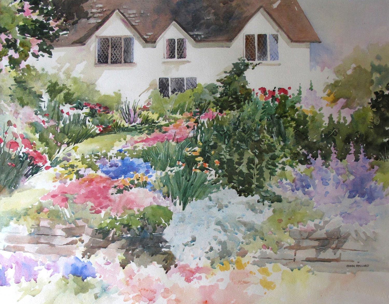 English Perennial Garden