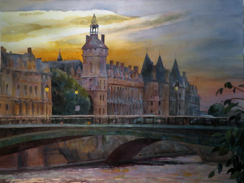 'L'Isle de Cité - Ponts du Sully & Marie'