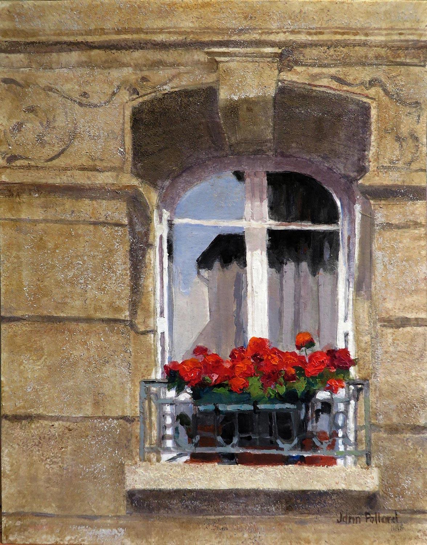 Paris Window Reflections