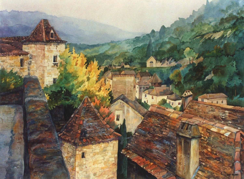 Rooftops of Dordogne