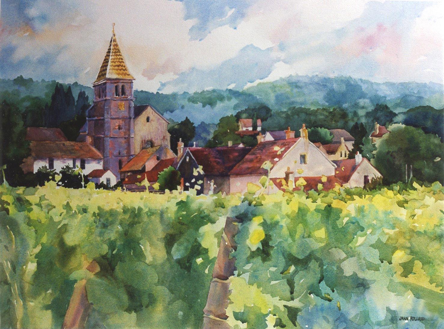 Burgundy Village of Fixin
