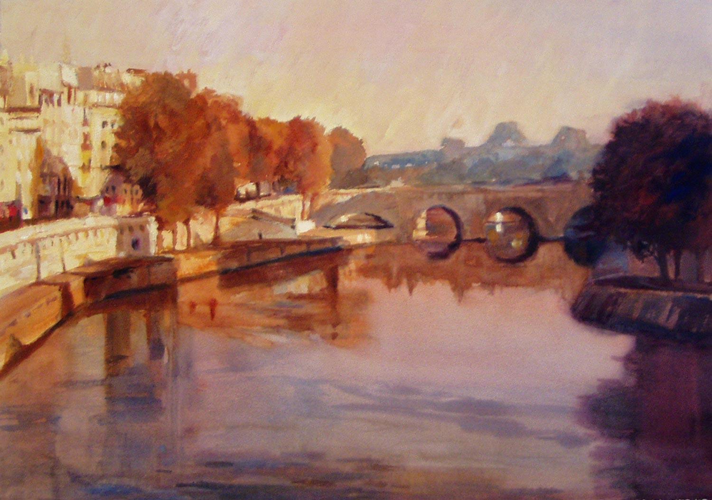 Moods of the Seine VI, Paris
