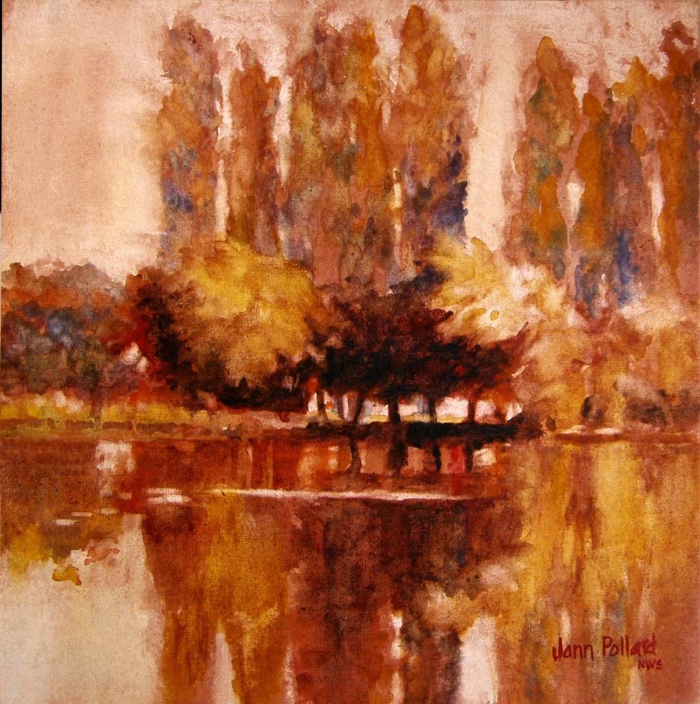 Chåteau Lanquais Cypress Reflections