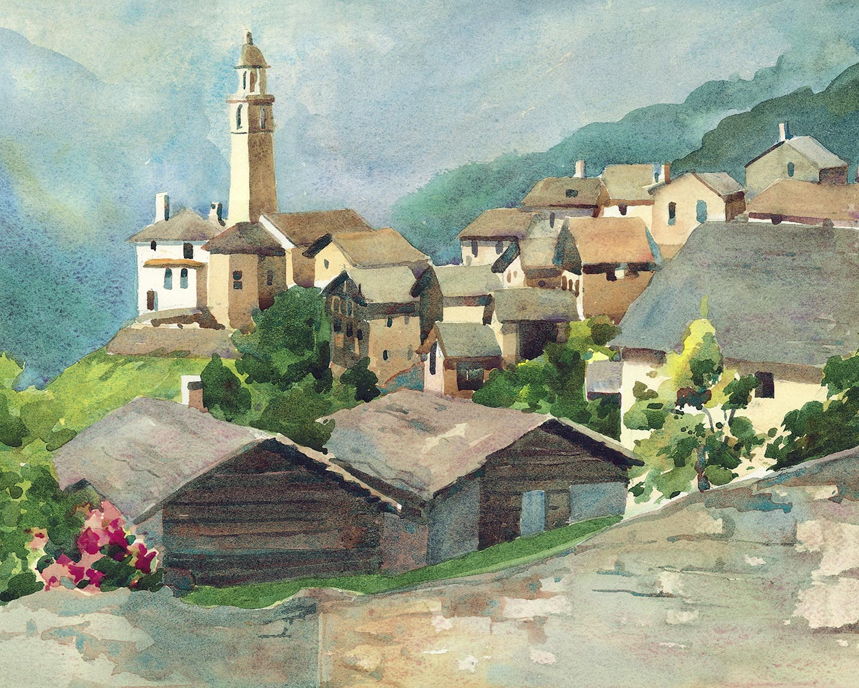 Village of Soglio
