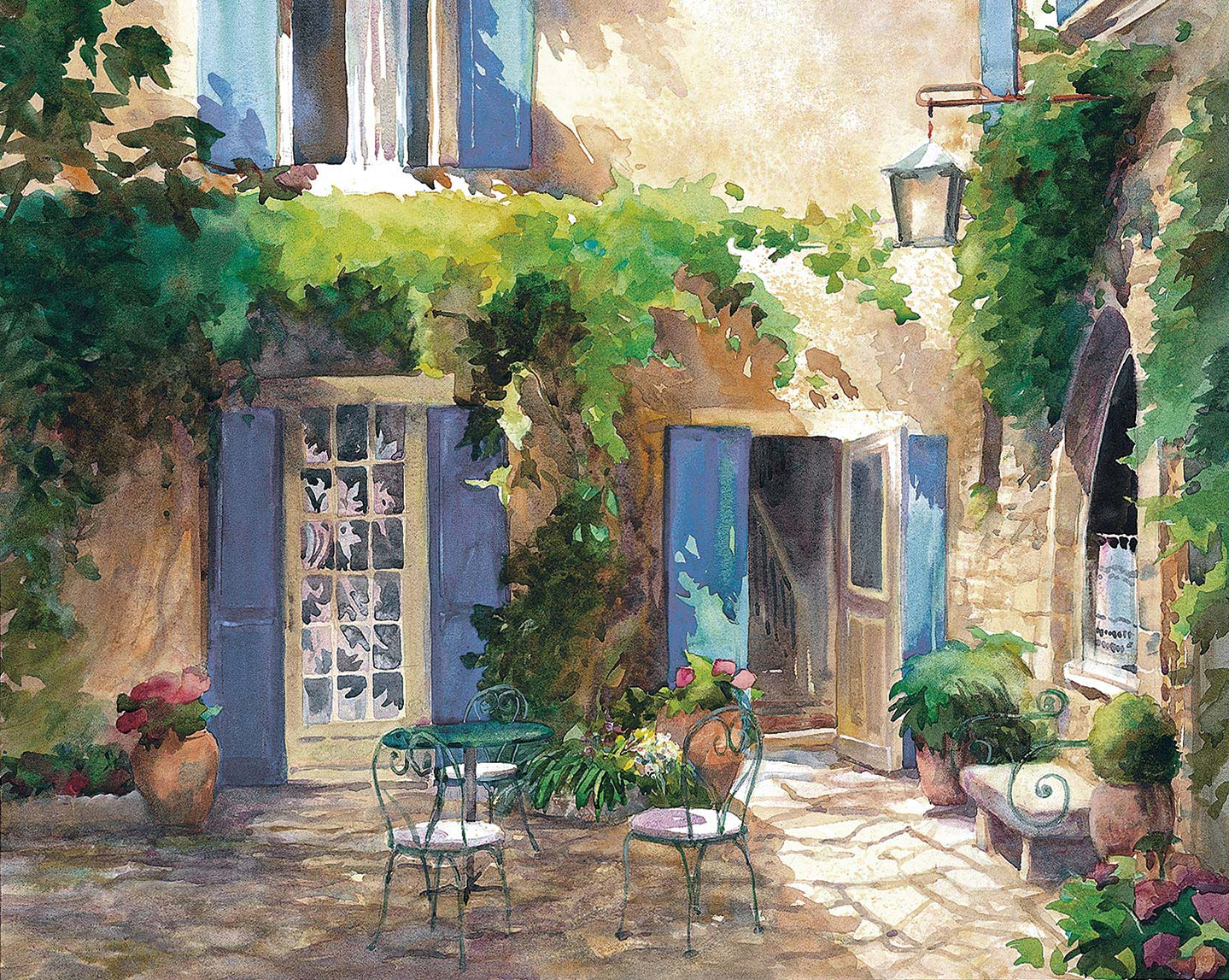 House of Blue Shutters, Provence