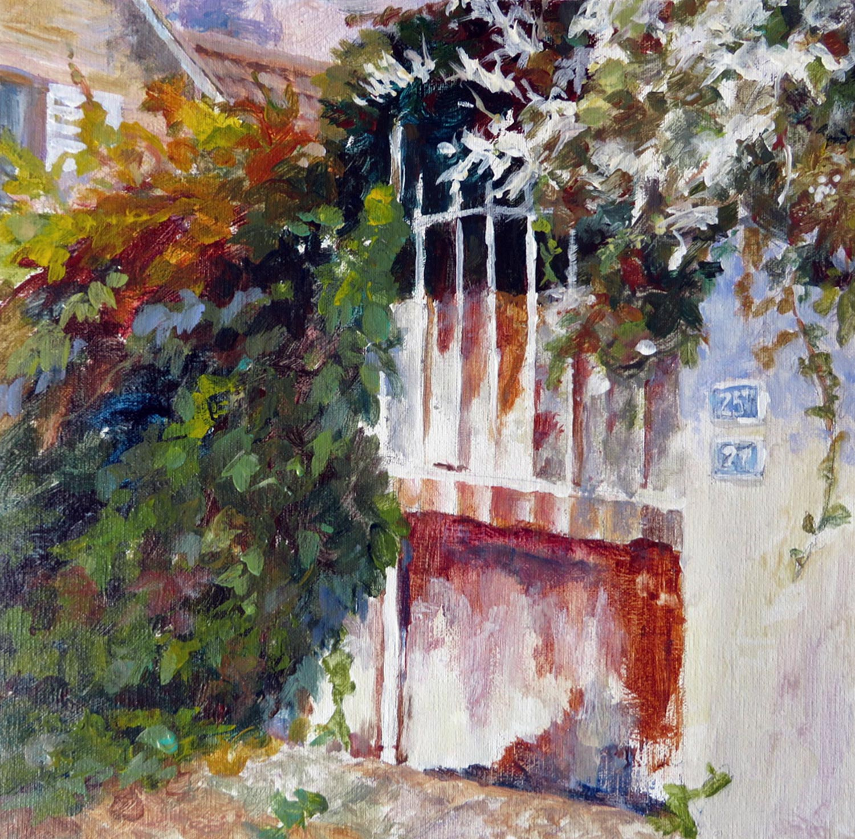 Gate on Blvd. Monet