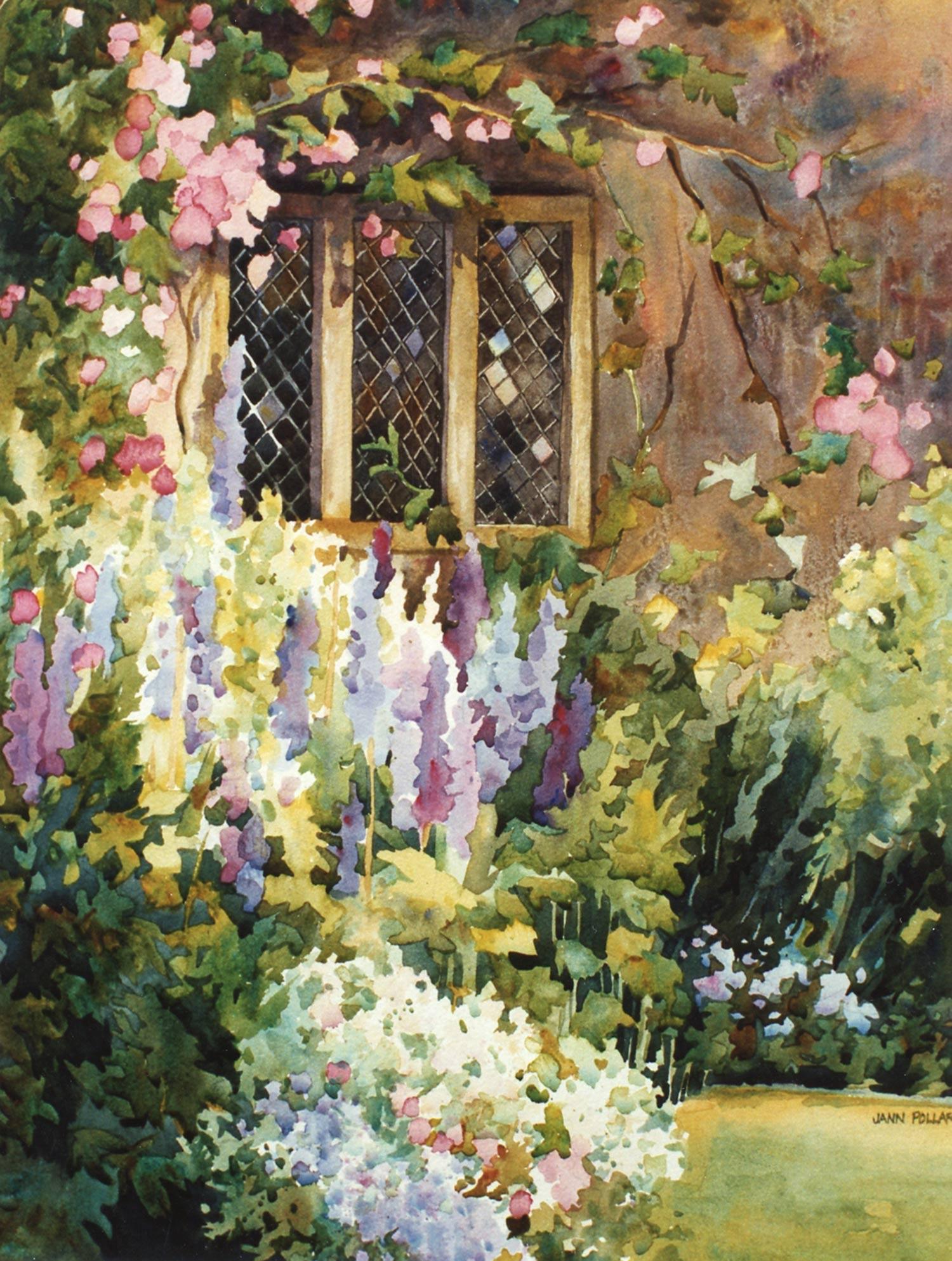 English Garden Window