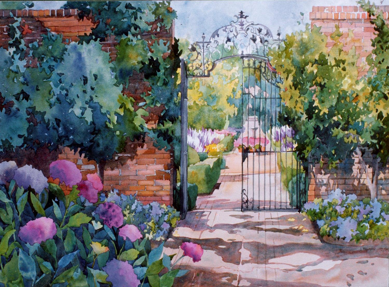 Garden Gate at Filoli