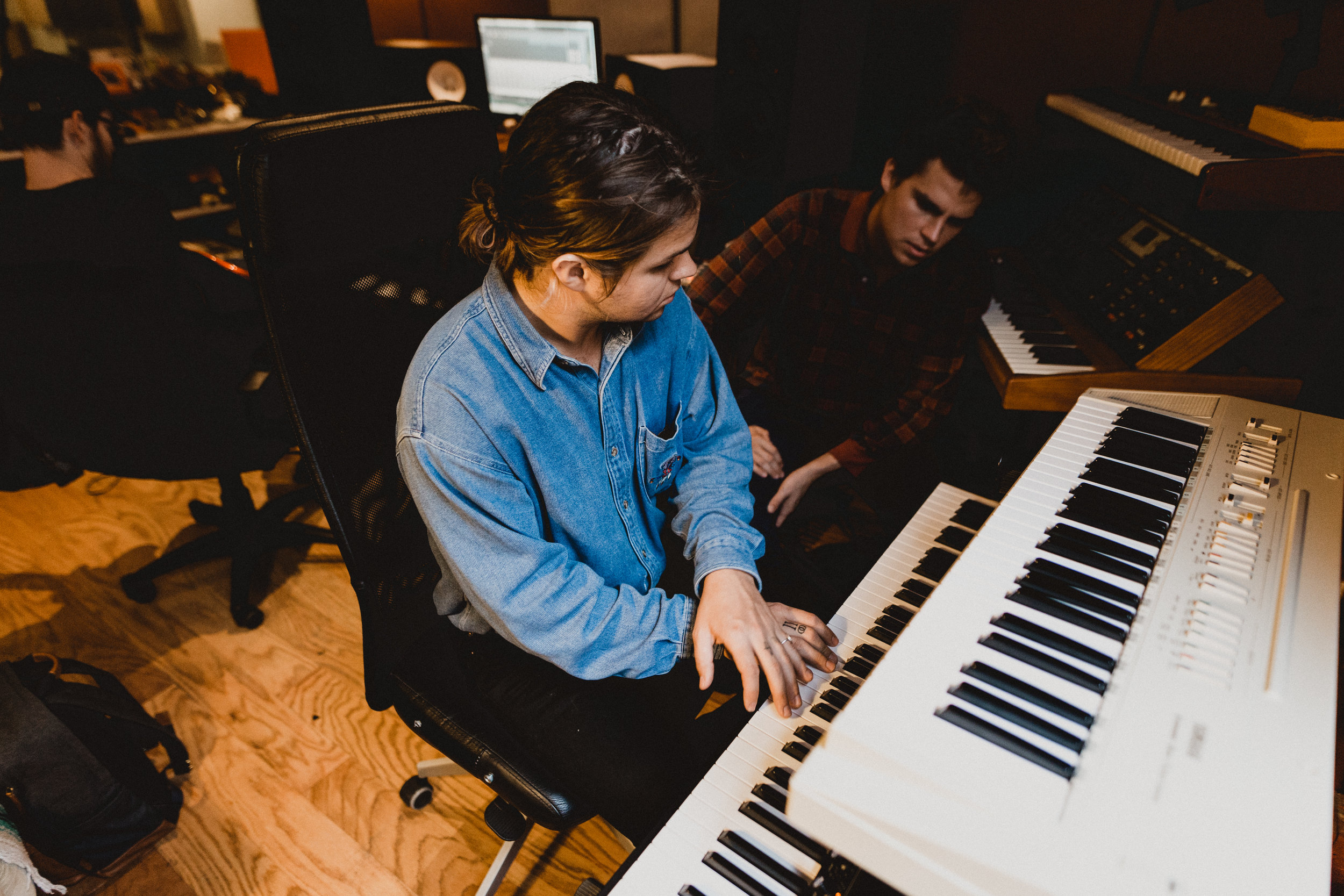 Working out keys parts with Jacob