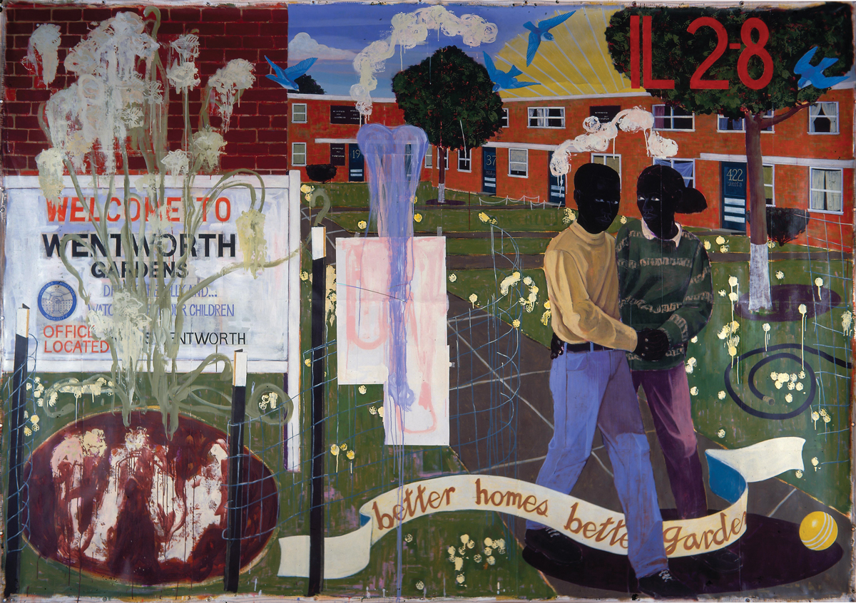Better Homes, Better Gardens. Kerry James Marshall. 1994.