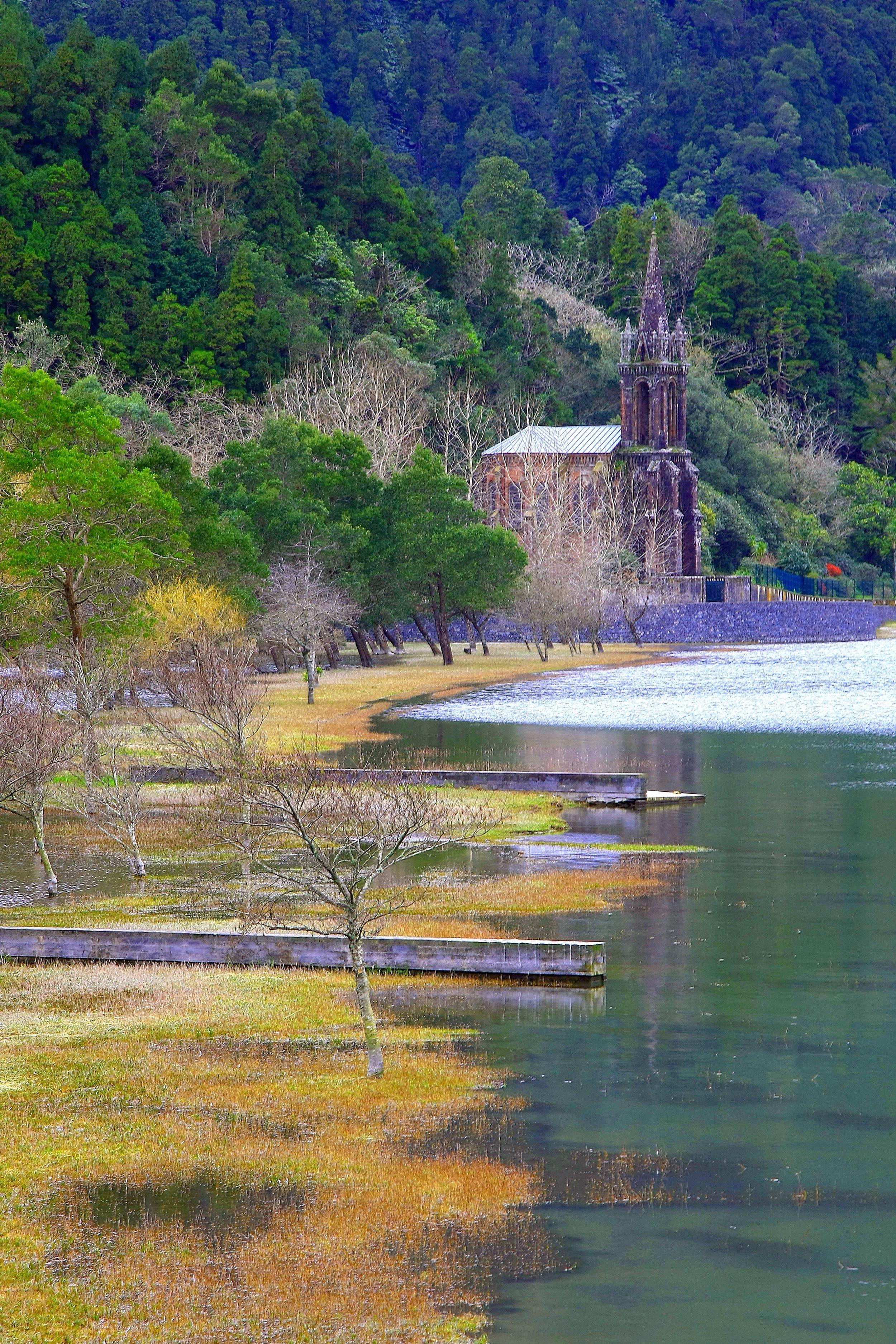 Furnas Lake, Caldeiras and Hot Springs -