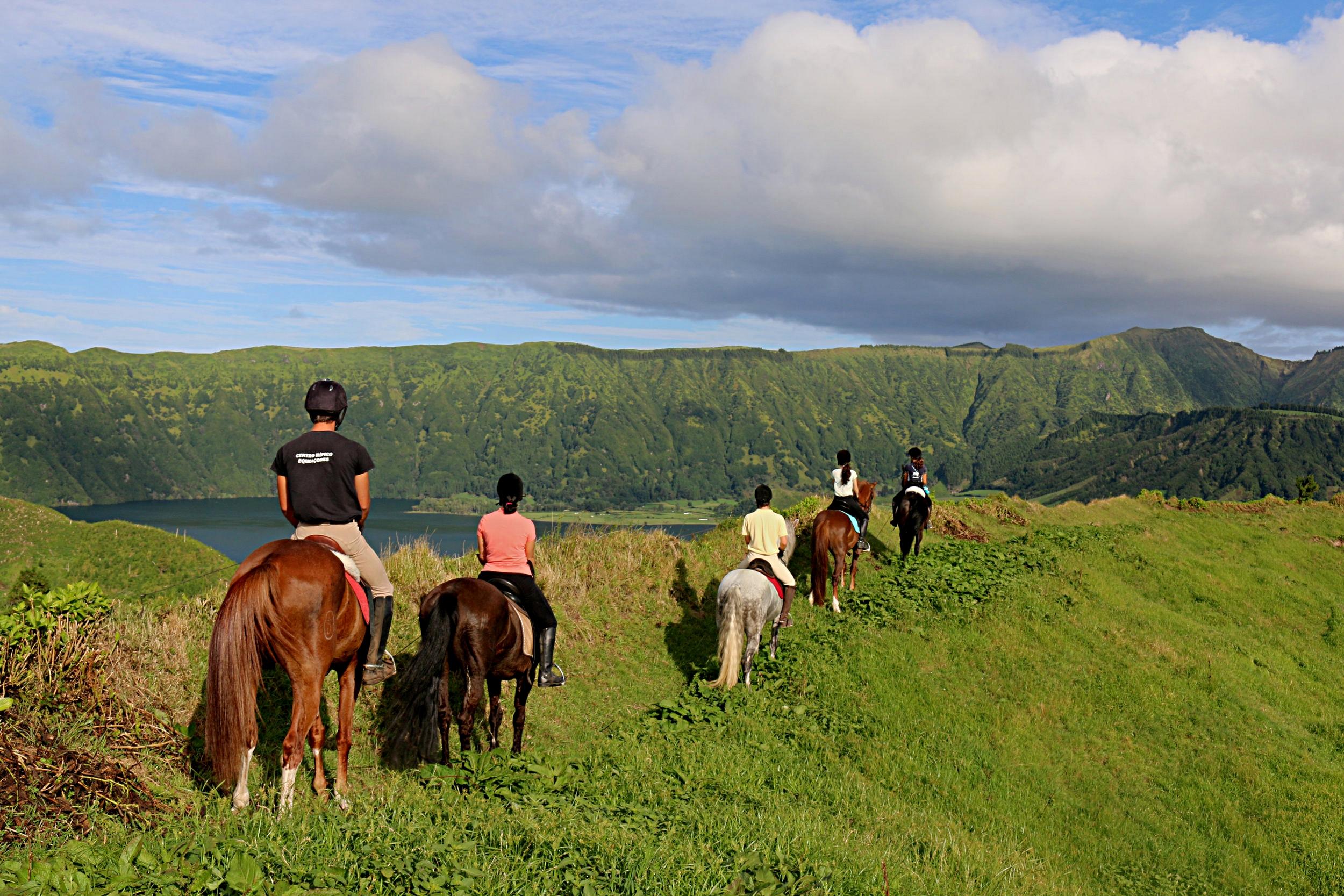 Rural Horse Riding -