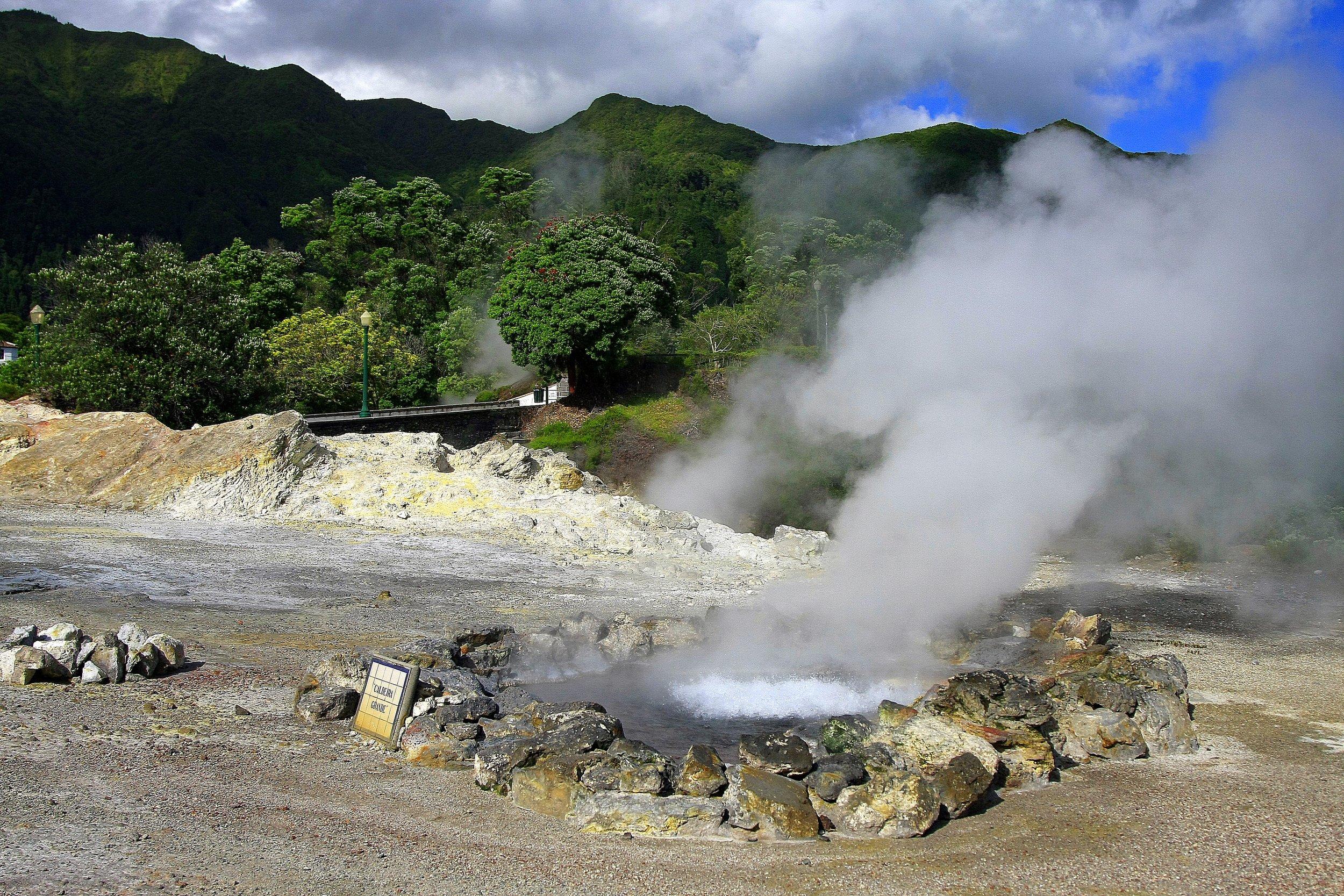 Furnas Volcanic Caldeiras.