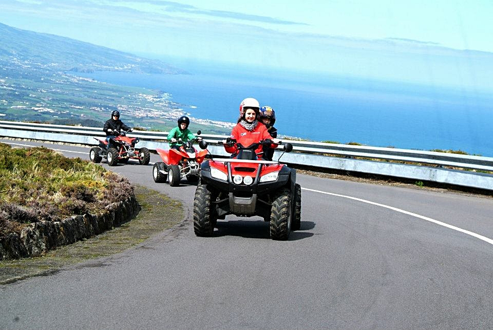 Quad Biking, Lagoa do Fogo.