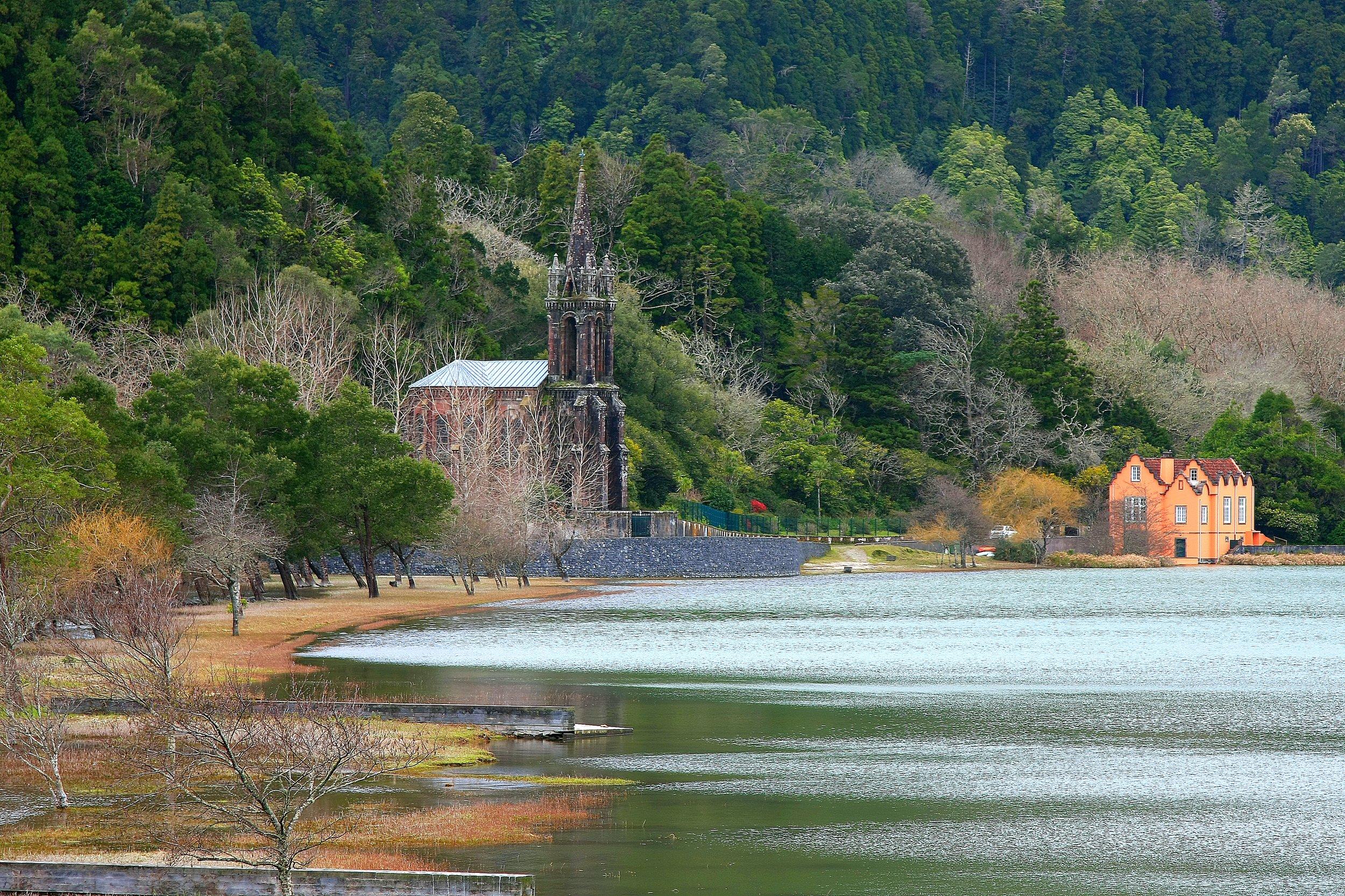 Furnas Lake.