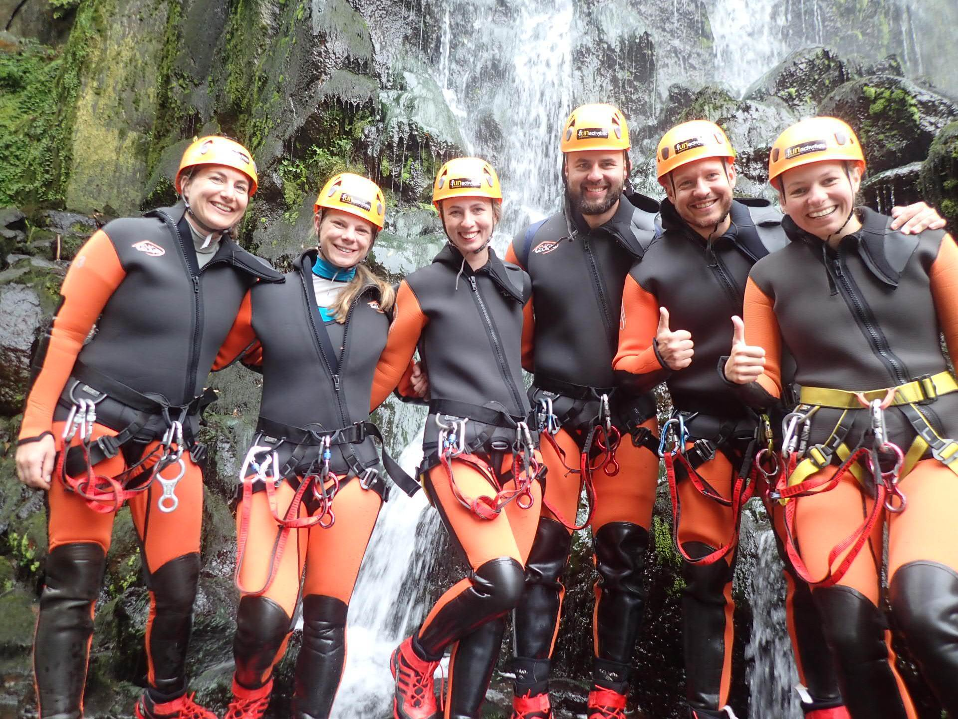Land Activities (Canyoning)