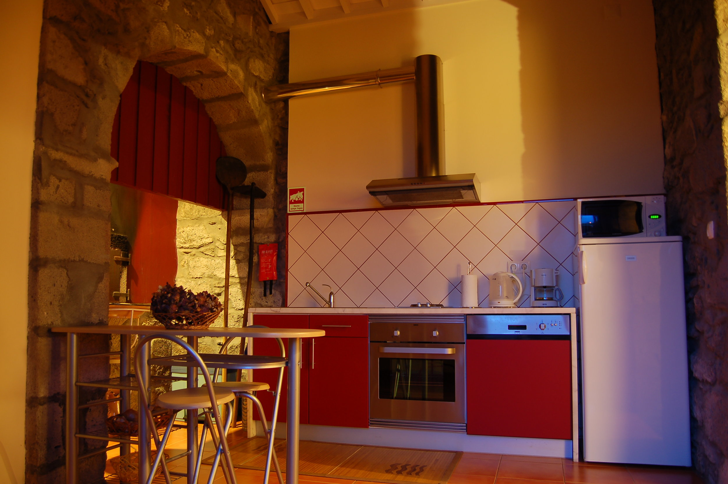 Azores Rustic Cottage Kitchen - Azores Connections.JPG